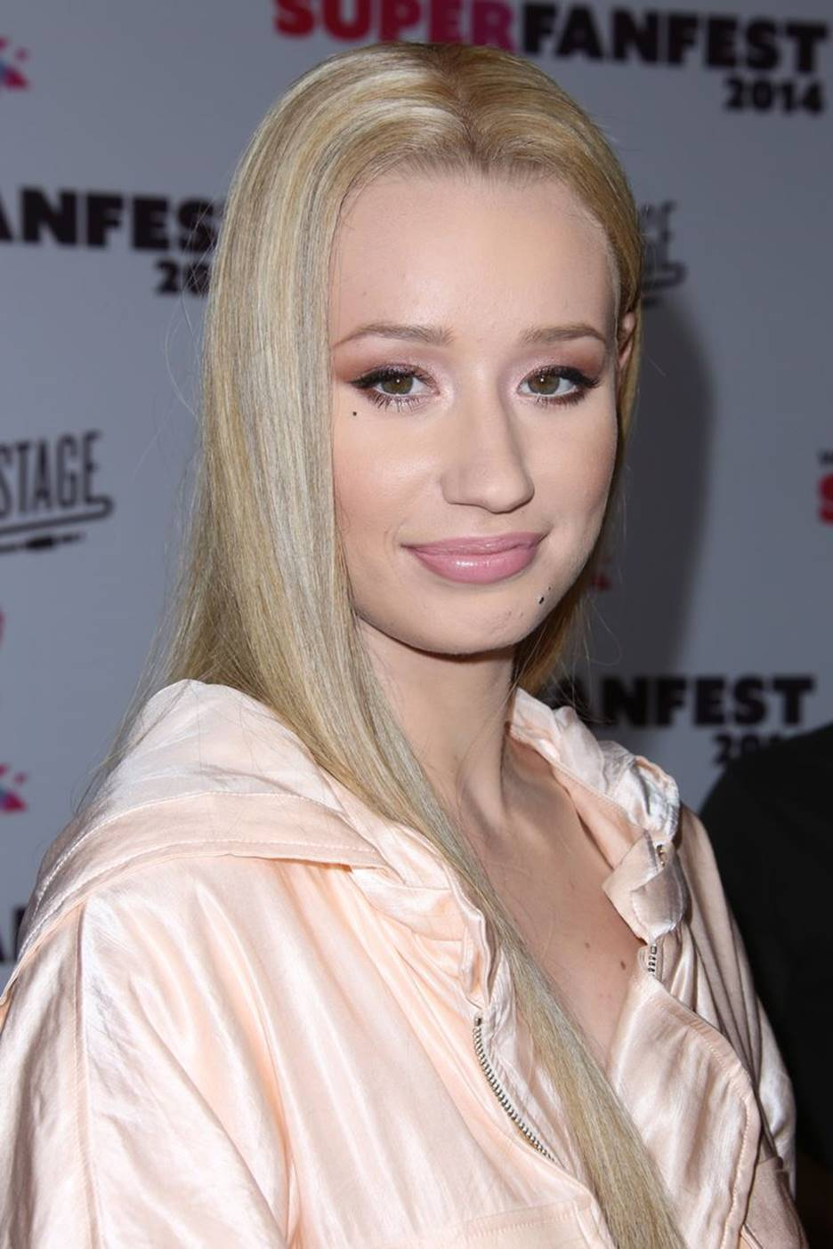 Iggy without makeup